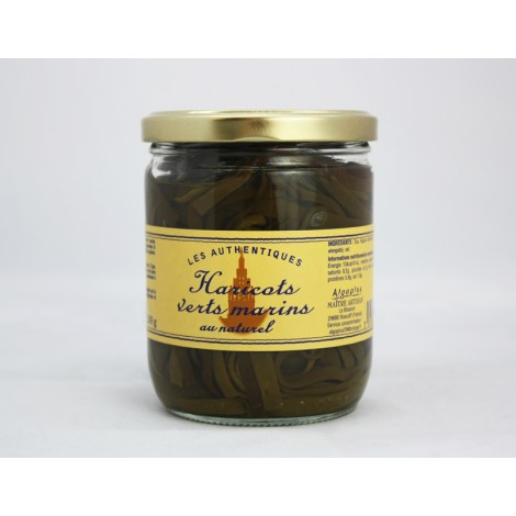 Haricots verts marins au naturel 458ML